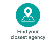 Click here to find your closest agency. This link opens in a new window.